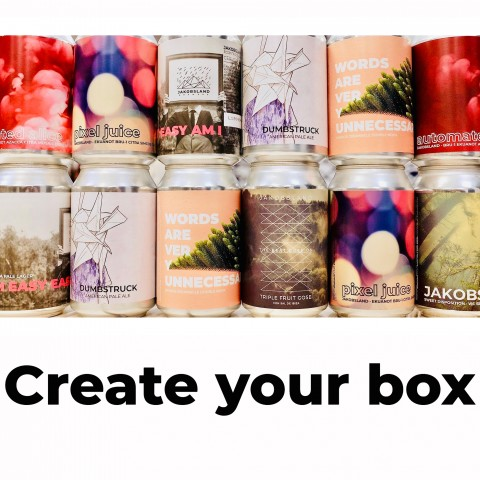 Made-to-order box of 12 beers